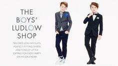 Boys Suits & Dress Pants : Boys Formal Clothes   J.Crew