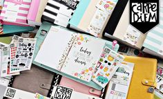 $2500 Simple Stories Carpe Diem Planner Obsession Giveaway!  Click this pin to enter the contest and receive additional entries! Good luck! (Posted on Aug 5, 2016)
