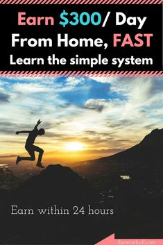 Still struggling? Learn how to earn online within 24 hours. See how a college dropout make money with this simple system. This post may contain affiliate links. Make money fast, work at home. Part time job, online job Make Real Money, Make Money From Home, Make Money Online, Mo Money, Money Tips, Best Side Jobs, Work From Home Tips, Part Time Jobs, Financial Tips