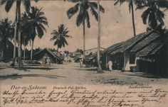 Araberstrasse Dae-es-Salaam c1900