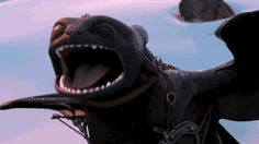 toothless the dragon gif - Google Search
