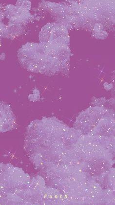 Purple Wallpaper Phone, Iphone Wallpaper Themes, Butterfly Wallpaper Iphone, Iphone Wallpaper Tumblr Aesthetic, Glitter Wallpaper, Cute Patterns Wallpaper, Iphone Background Wallpaper, Aesthetic Pastel Wallpaper, Aesthetic Wallpapers