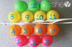 DIY Easter : DIY Simple Easter Countdown