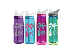 Palm Tree CamelBak 0.75 L Eddy or 0.6 L by SmittenInAMitten