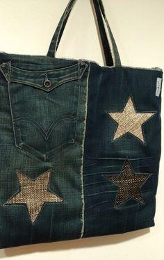 Saco em ganga/jeans