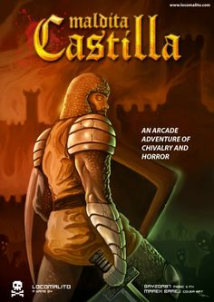 Maldita Castilla - The lament of a young witch has been turned into a key for demons. Guide Don Ramiro through the cursed lands of Tolomera and expel the evil that entered the Kingdom of Castile.