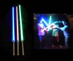Now you can act out all of the greatest Star Wars Lightsaber battles with your own friends – these lightsabers are a great gift for kids or for Star Wars fans who are into dressing up in character. These lightsabers are lightweight and come with 22 LED bulbs inside.  Buy It  $13.50