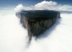 25 Places That Don't Look Normal, But Are Actually Real, Mt. Roraima, Venezuela #amazingworld