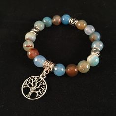Tree of Life Bracelet, Yoga Bracelet, Gemstone Bracelet, Mala Bracelet, Energy Bracelet, meditation, balance, healing, Chakra Bracelet, jade by HaydeeDesigns on Etsy https://www.etsy.com/listing/229036830/tree-of-life-bracelet-yoga-bracelet #handmade #jewelry #etsyshop #jewelrydesign #jewelryonetsy #mothersday #yoga #yogaforall #namaste #malabeads #giftsformom #handmade #shoppershour #craftshout