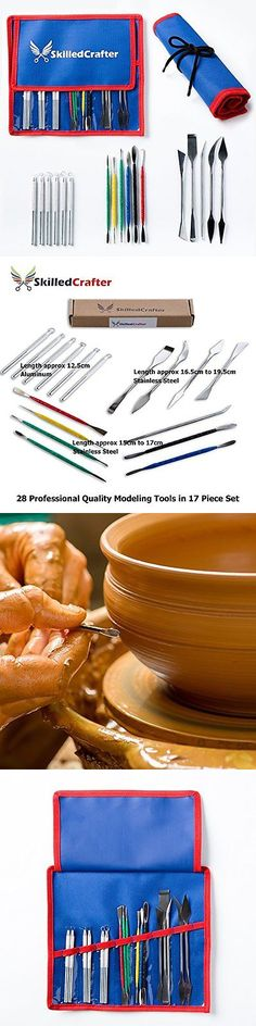 Pottery Tools and Sets 116496: Ceramic And Pottery Tools Pottery Tools With Case. 28 Stainless Steel Aluminum In -> BUY IT NOW ONLY: $36.13 on eBay!