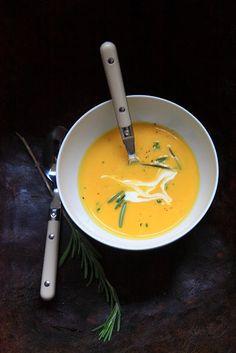 Butternut Kürbis-Suppe