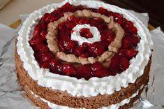 Citromhab: Feketeerdő torta