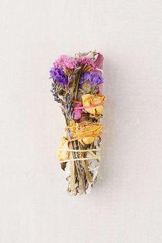 Slide View: 1: Catherine Rising X UO Floral Sage Incense Bundle