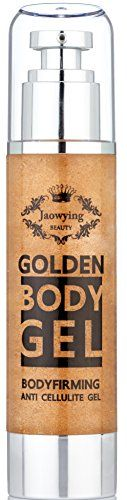 Golden Anti Cellulite Gel  Effective All Natural Cellulite Remover Concentrated Firming Body Gel Softens Smooths Tightens Loose Skin  Gets Rid of Cellulite  Net 338oz 100ml >>> For more information, visit image link.