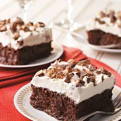 Caramel-Soaked Chocolate Cake