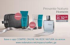 O Kit #NaturaHomem é o #presente perfeito para dar no #DiadosNamorados com um delicioso 1 #perfume amadeirado (100ml) + 1 #nécessaire + 1 #shampoo (200ml) + 1 loção de barbear (75ml) + 1 gel pós #barba (75ml).  Comprando online a Natura entrega o pedido na sua casa em todo Brasil. Pague com boleto bancário ou divida em até 6x s/juros no cartão (parcela mínima de R$ 30,00) #homem #barba #namorado #amor