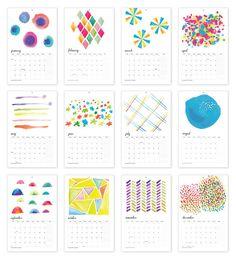 2012 Art Print Wall Calendar by Fine Day Press $34.00