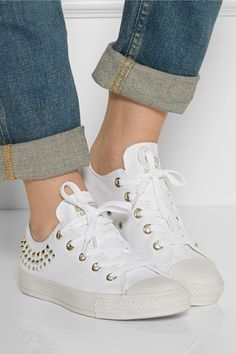 Converse Studded Sneaks