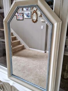 How to Antique a thrift store Mirror