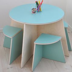 Practical idea for modern children's furniture from Small Design
