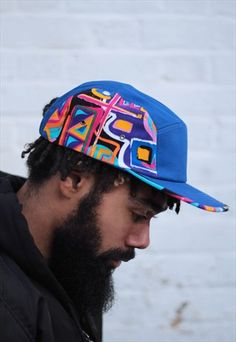 Five Panel Hat, 5 Panel Cap, Skate Hats, Skate Wear, Mayan Symbols, Viking Symbols, Egyptian Symbols, Viking Runes, Ancient Symbols
