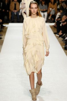 chloé fashion show a/w 2014