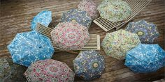 Morris & Co   Umbrellas in 12 patterns