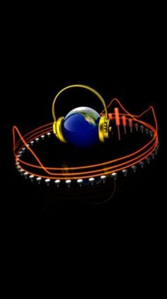 Music World w/Headphones & Equalizer.