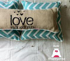 Conjunto de almohadones personalizados