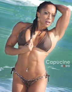 Interview with Amazing Fitness Model, Figure Competitor Capucine Leconte