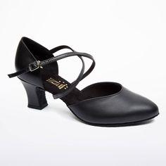 Chaussure de Danse Latine & Salon Roch Valley Anceta 5,5cm Noir.