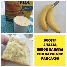 Pastel 5 Tazas Sabor Banana/Platano - Madelin's Cakes