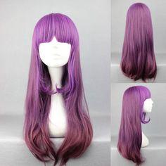 Seraph of the End Shinoa Hiragi Light Purple Short Braid Temple Cosplay Full Wig. Ao no Exorcist Ekusoshisuto Blue Exorcist Rin Okumura Cosplay Tie Necktie Hair Style : Cosplay Wigs. Cosplay Wigs, Anime Cosplay, Purple Wig, Anime Wigs, Short Braids, Wigs With Bangs, Bleach Blonde, Long Wigs, Cute Hairstyles