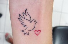 fullbody-tattoos: Dove Tattoo Meaning