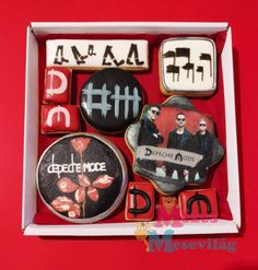 Royal Icing Cookies, Depeche Mode