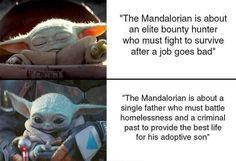 The Mandalorian - The Child aka baby Yoda (Star Wars) - Baby Yoda Star Wars Meme, Star Wars Fan Art, Star Trek, Chewbacca, Yoda Meme, Yoda Funny, Nerd Funny, Obi Wan, Funny Relatable Memes