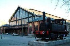 Museo del Ferrocarril. Madrid España.