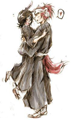 ~Renji and Rukia~  - rukia-and-renji Fan Art