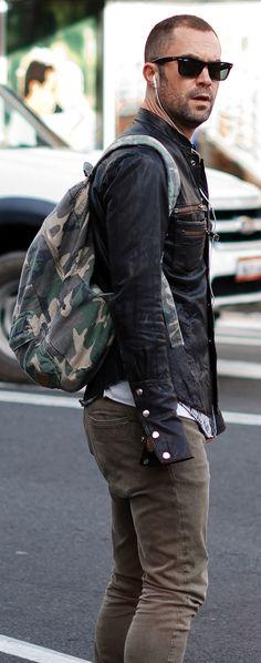 camo/leather/wayfarer