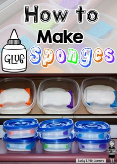 Glue Sponges...they are worth the HYPE! | Mrs. Olson's Lucky Little Learners | Bloglovin'