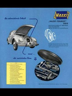 VW Hazet Tool Kit Ad