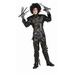 Grand Heritage Edward Scissorhands Costume - Adult, Men's, Black
