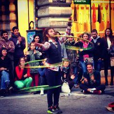 Street Circus, Ermou st. Athens downtown