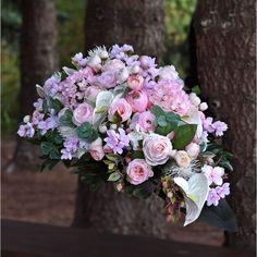 Dekoracja nagrobna z kwiatów sztucznych, najwyższej jakości. Grave Flowers, Funeral, Floral Wreath, Wreaths, Wedding, Decor, Valentines Day Weddings, Floral Crown, Decoration