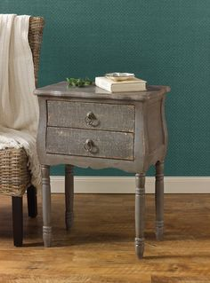 Accent Table --Aged Gray