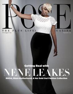 NeNe Leakes cover Pose Magazine Home Shopping Network Nene Leakes, Celebrity Look, Celebs, Celebrities, Covergirl, Dress To Impress, Plus Size Fashion, Curvy Fashion, Short Hair Styles