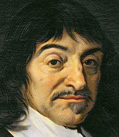 Frans Hals - Portrait of Rene Descartes (1596-1650) c.1649 (detail of 32939)