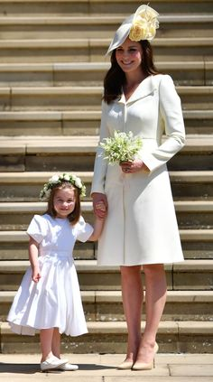 The Cutest Photos of Prince George and Princess Charlotte from the Royal Wedding Though nothing could dim Meghan Markle's shine, the royal tots nabbed a few scene-stealing moments of their own.