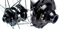 Pacenti P30 carbon road bike wheels with disc brake dynamo hub