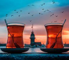 Turkish Lovers by Ilkin Karacan Karakuş - Photo 213367369 / 500px. #landscape #travel #tower #istanbul #turkey #turkish #food #tea #seagulls #architec #maidenstower #bucketlist #seagull #turkishtea #maidenstower #kızkulesi